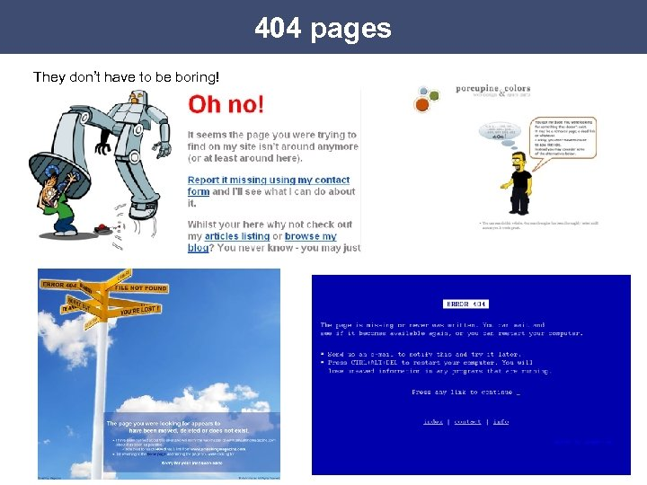 404 pages They don't have to be boring!