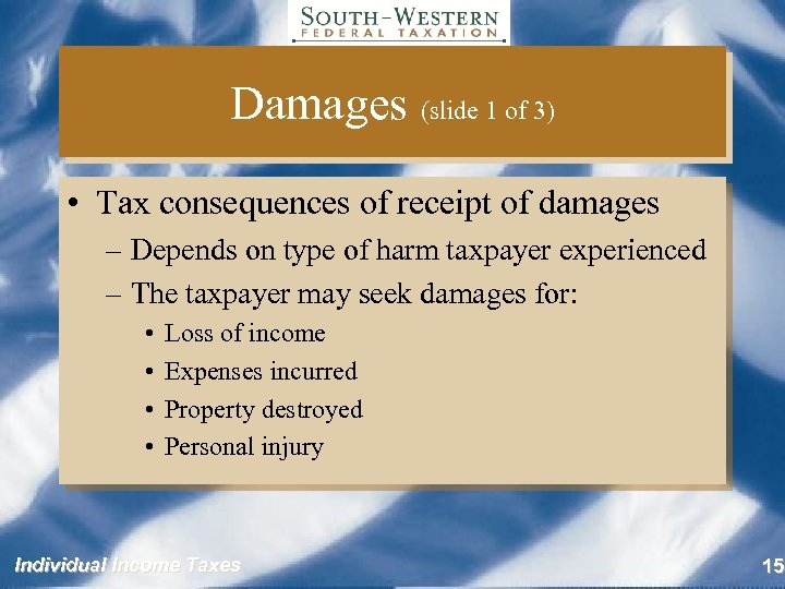 tax consequences of compensation essay Articles the tax benefit rule boris i bittker and stephen b kanner introduction when a taxpayer recovers or collects an item that was de.