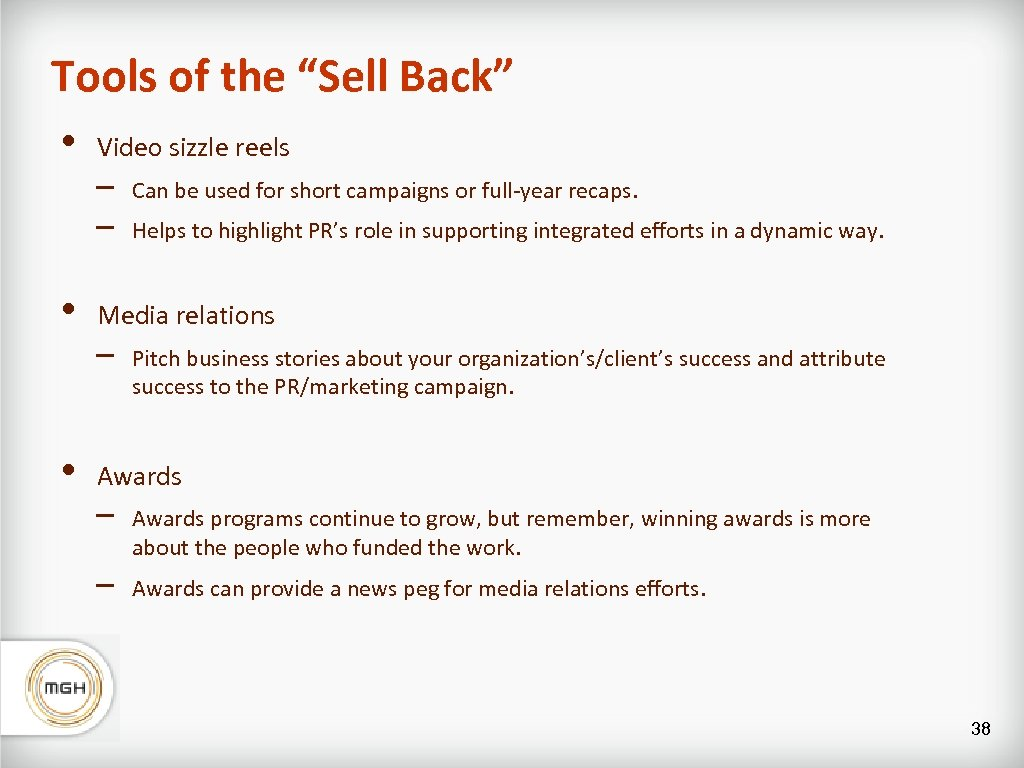 """Tools of the """"Sell Back"""" • • • Video sizzle reels – – Can"""