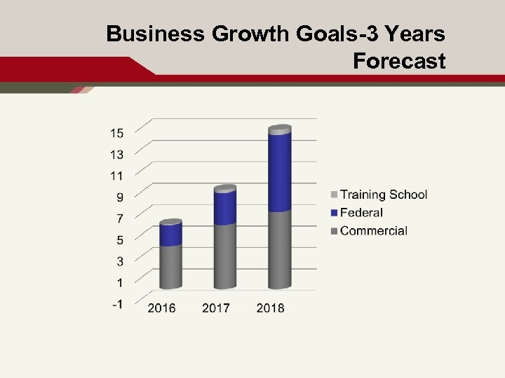 Business Growth Goals-3 Years Forecast 10