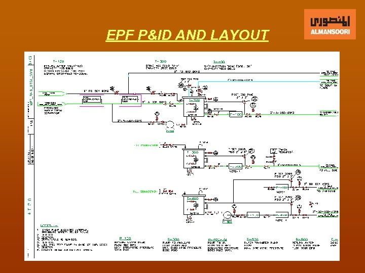 EPF P&ID AND LAYOUT