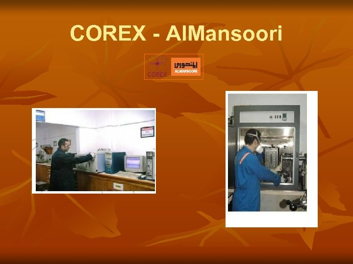 COREX - Al. Mansoori