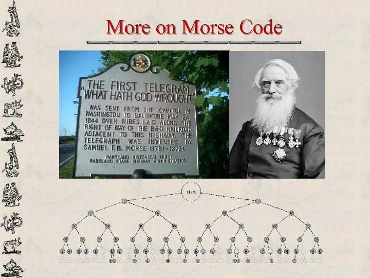 More on Morse Code