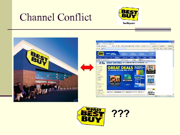 Channel Conflict ? ? ?