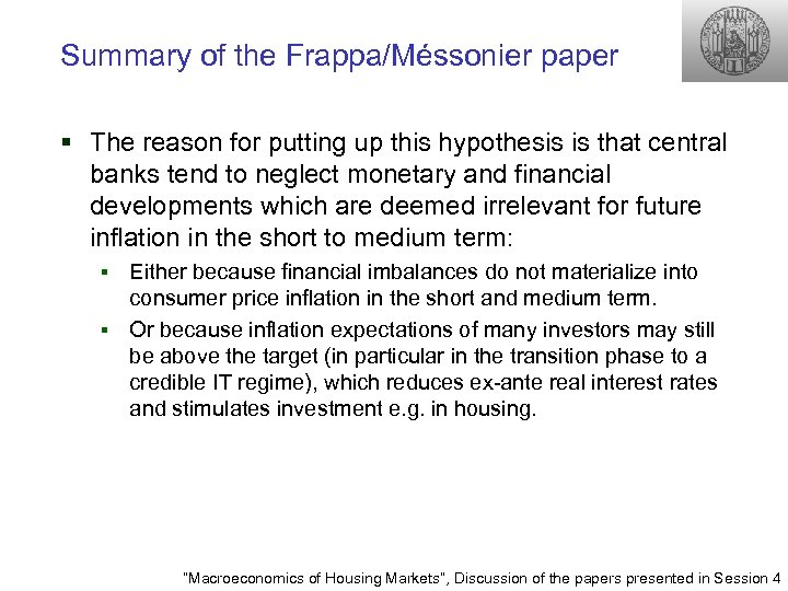 Summary of the Frappa/Méssonier paper § The reason for putting up this hypothesis is