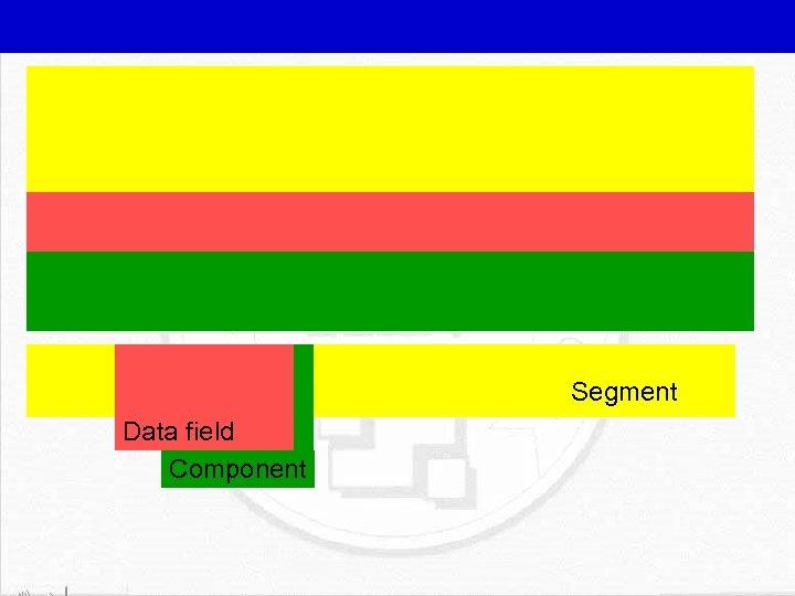 Segment Data field Component