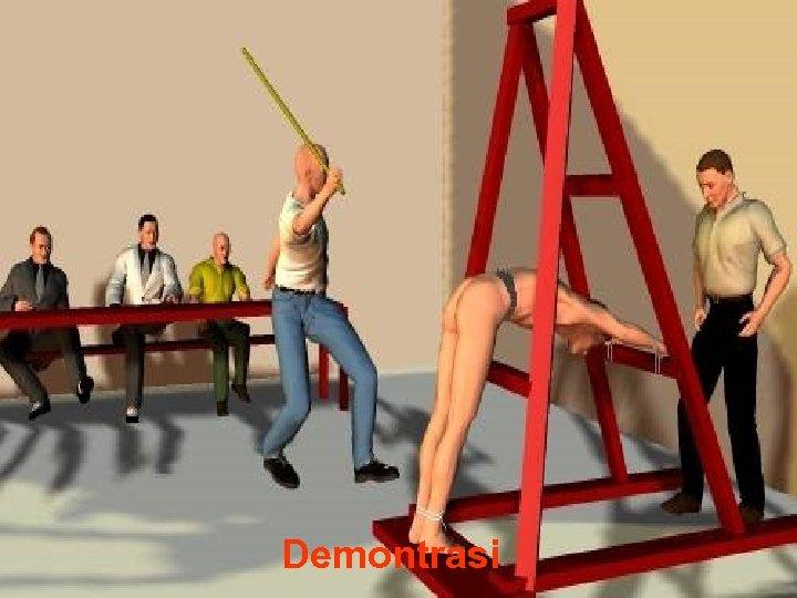 Demontrasi