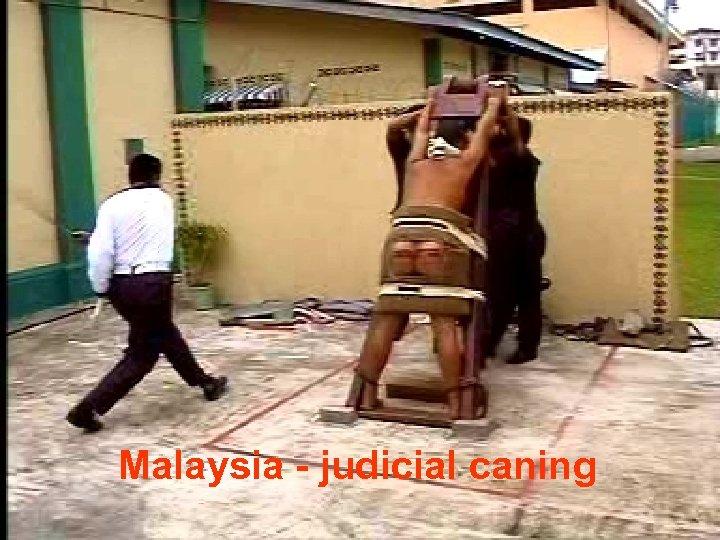 HUKUMAN SEBAT Malaysia - judicial caning