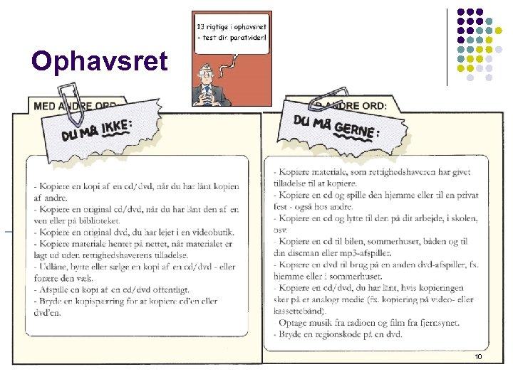 Ophavsret 10