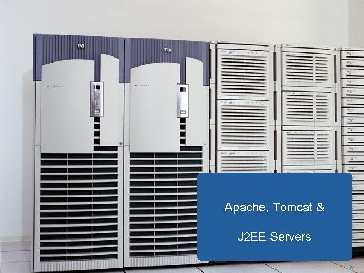 Apache, Tomcat & J 2 EE Servers 20