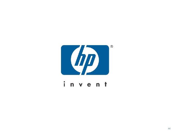 HP logo 55