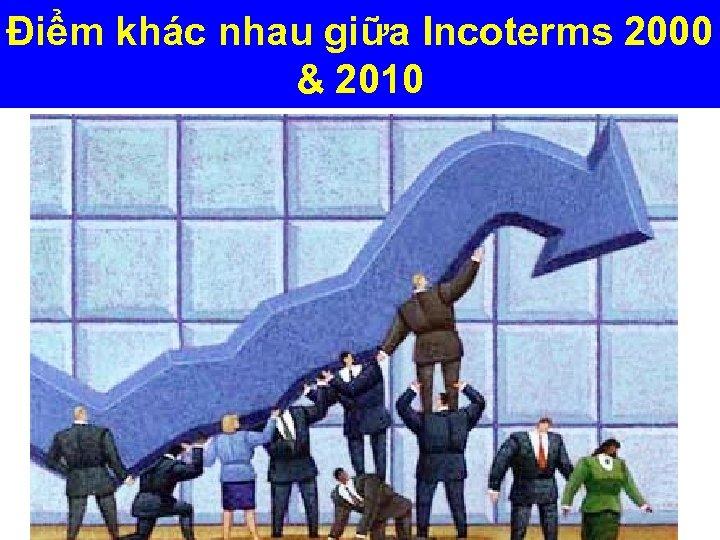 Điểm khác nhau giữa Incoterms 2000 & 2010