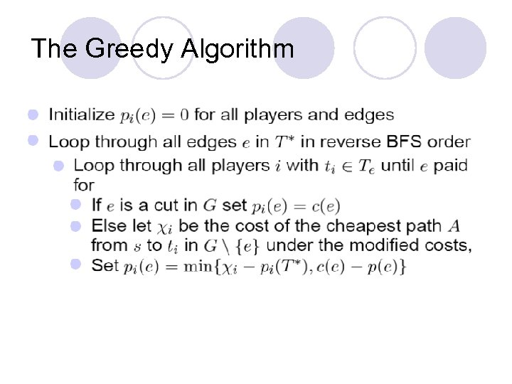 The Greedy Algorithm