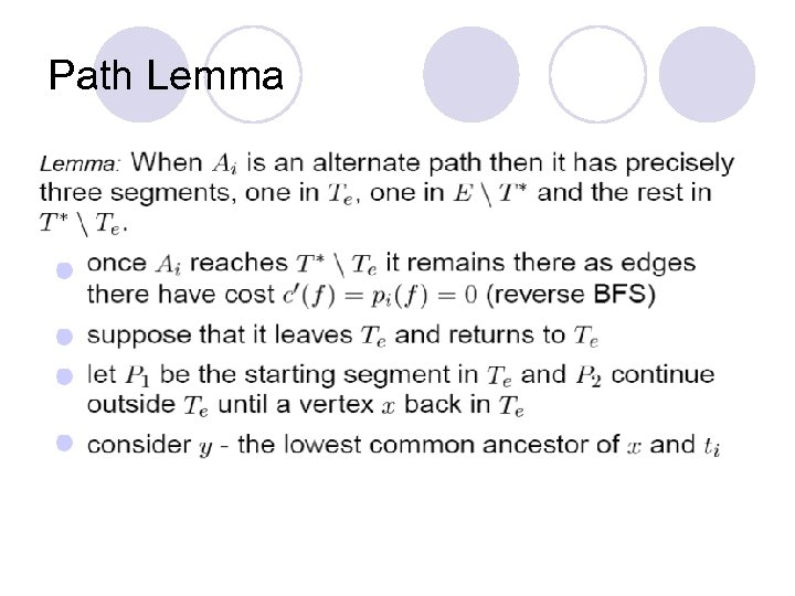 Path Lemma