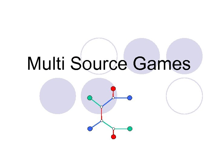 Multi Source Games