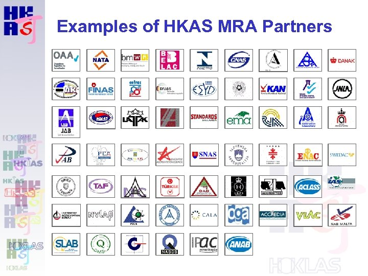 Examples of HKAS MRA Partners