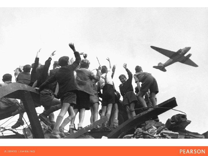 The Berlin airlift of 1948– 1949 broke the Soviet blockade. Called Operation Vittles, it
