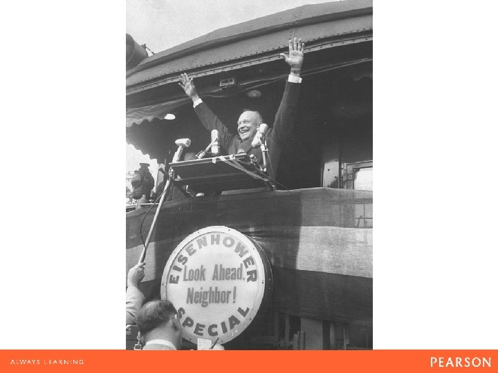 Eisenhower's landslide victories in 1952 and 1956 seemed to prove his slogan that Americans