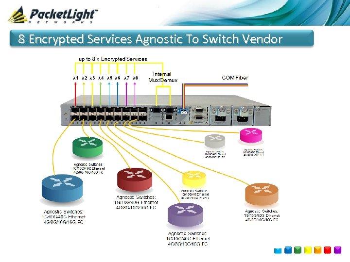 8 Encrypted Services Agnostic To Switch Vendor