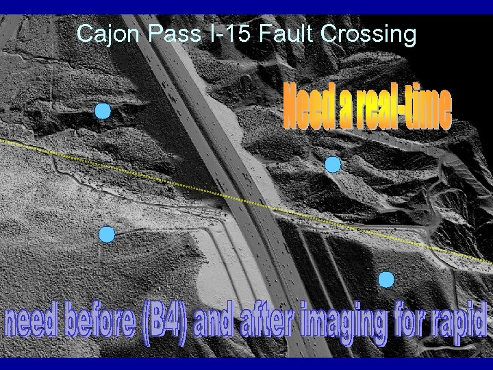 Cajon Pass I-15 Fault Crossing