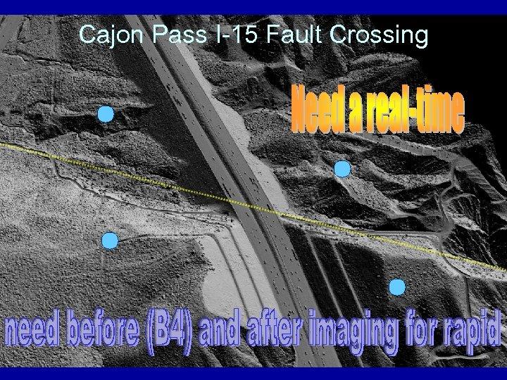 Cajon Pass I-15 Fault Crossing