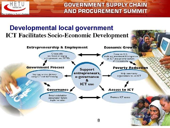 Developmental local government 8