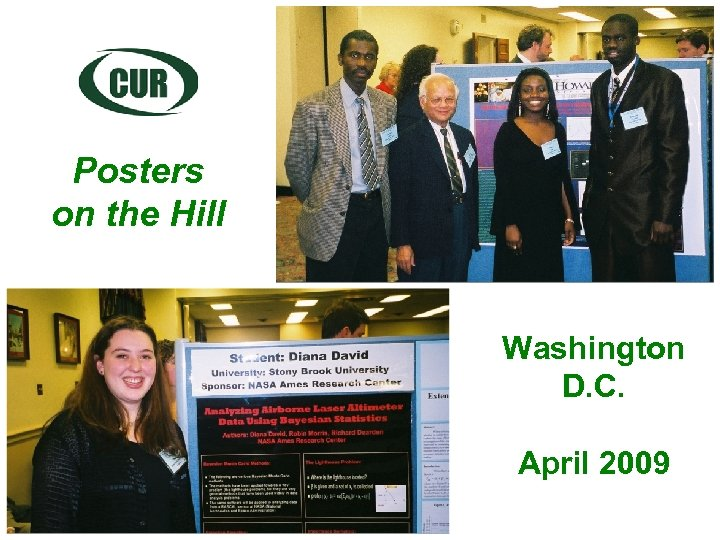 Posters on the Hill Washington D. C. April 2009