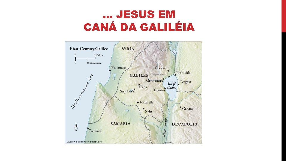 . . . JESUS EM CANÁ DA GALILÉIA