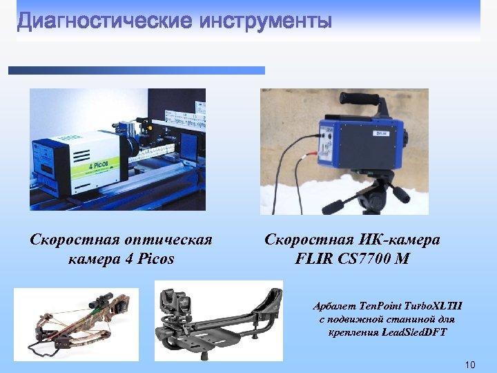 Диагностические инструменты Скоростная оптическая камера 4 Picos Скоростная ИК-камера FLIR CS 7700 M Арбалет