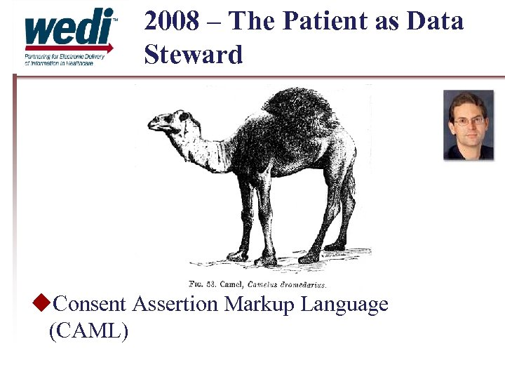 2008 – The Patient as Data Steward Consent Assertion Markup Language (CAML)