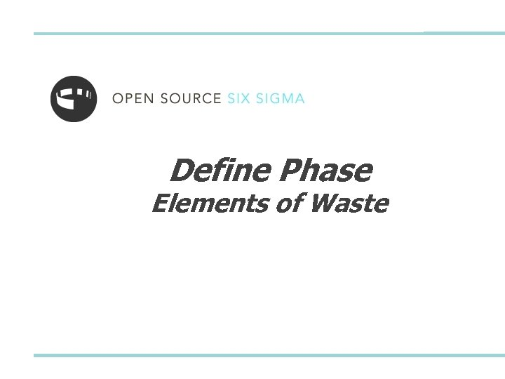 Define Phase Elements of Waste