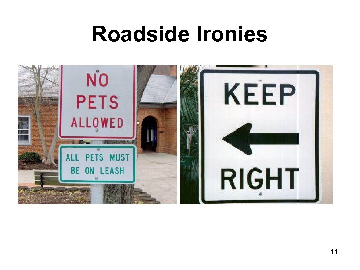 Roadside Ironies 11