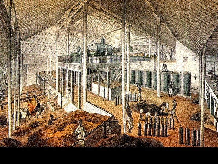 Inside the sugar mill