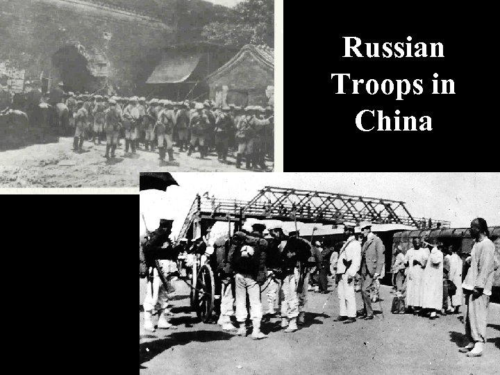 Russian Troops in China