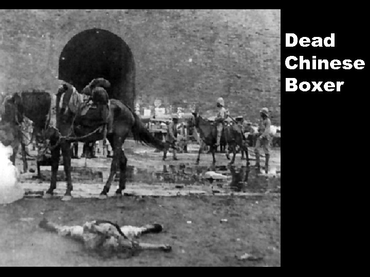 Dead Chinese Boxer