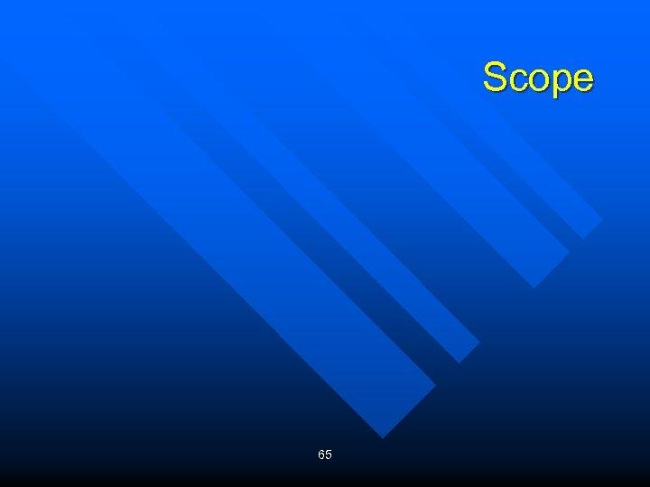 Scope 65
