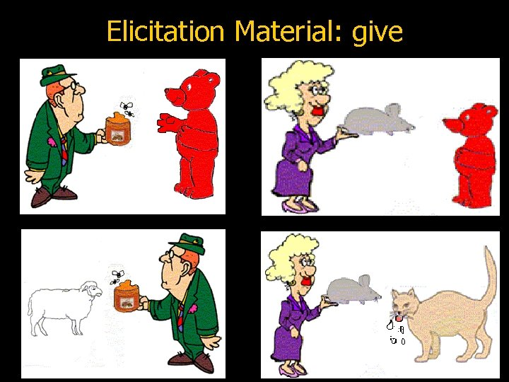 Elicitation Material: give