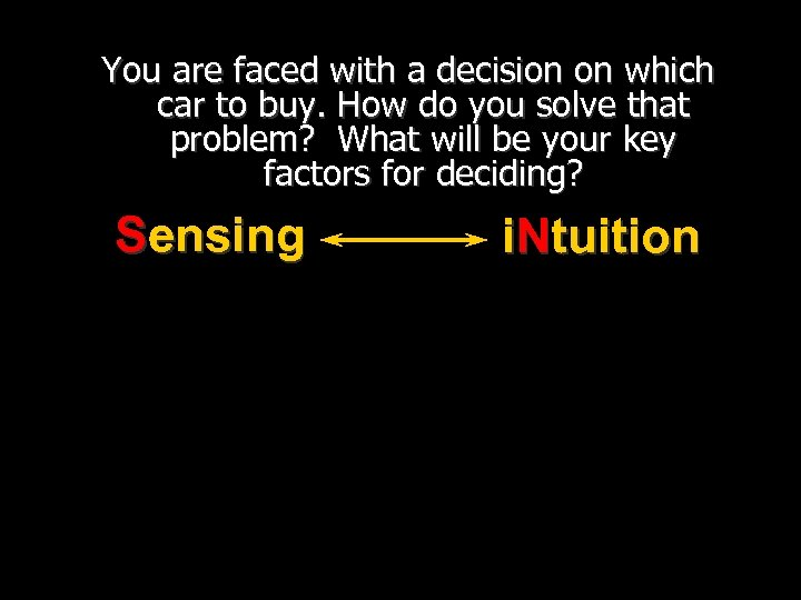 You are faced with a decision on which car to buy. How do you