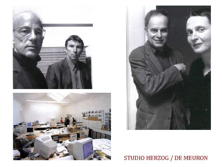 STUDIO HERZOG / DE MEURON