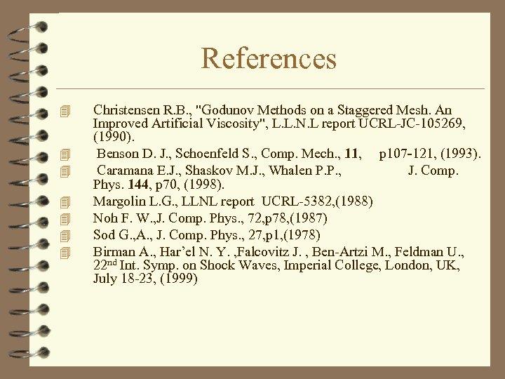 References 4 4 4 4 Christensen R. B. ,