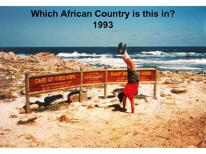 Which African Country is this in? 1993