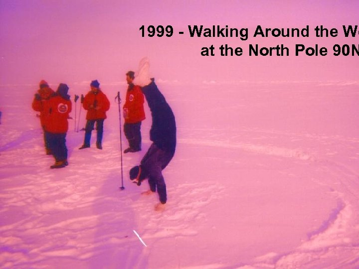 1999 - Walking Around the Wo at the North Pole 90 N