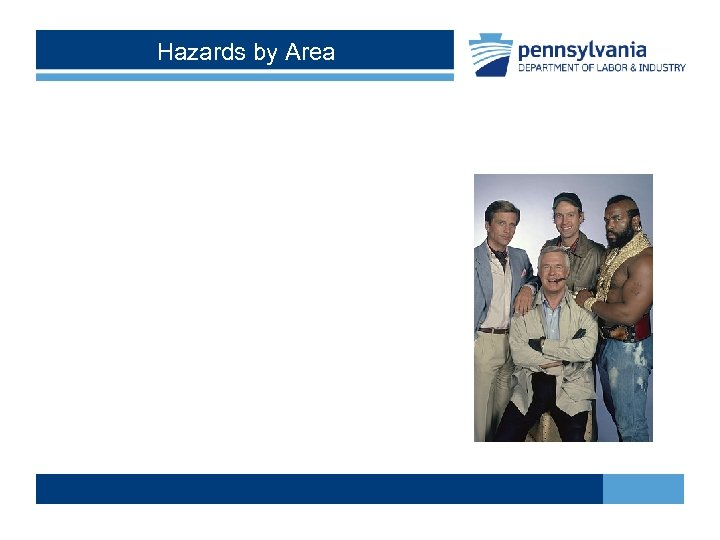 Hazards by Area