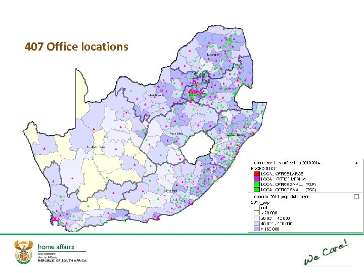 407 Office locations