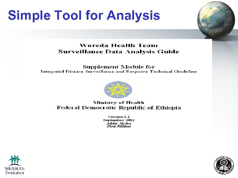Simple Tool for Analysis