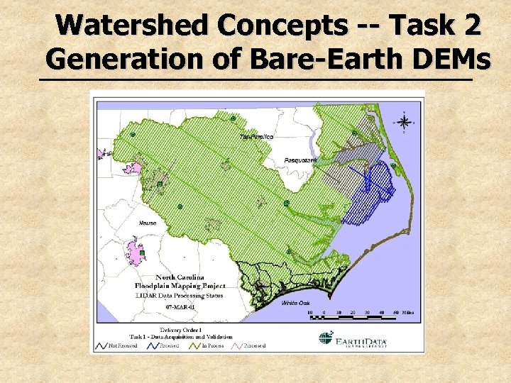 Watershed Concepts -- Task 2 Generation of Bare-Earth DEMs