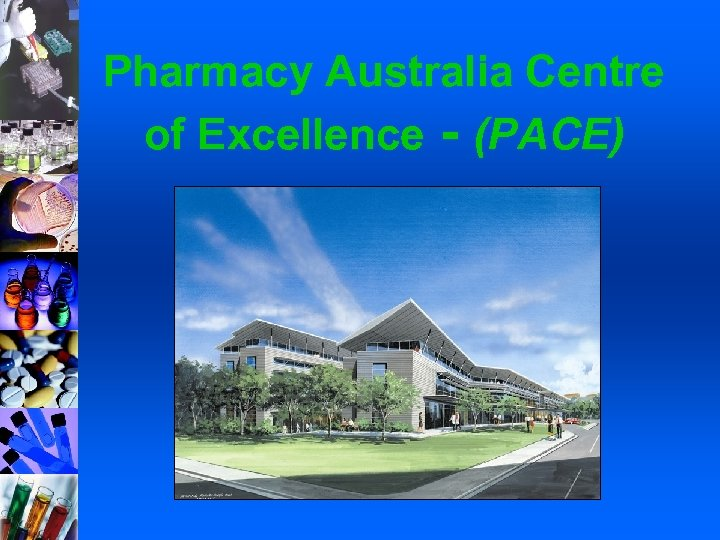 Pharmacy Australia Centre of Excellence - (PACE)
