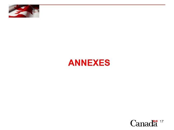 ANNEXES 17