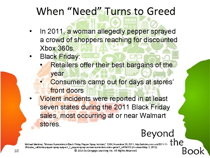 """When """"Need"""" Turns to Greed • • • In 2011, a woman allegedly pepper"""