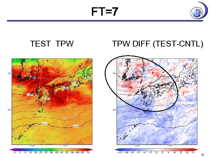 FT=7 TEST TPW DIFF (TEST-CNTL) 19